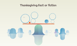 Thanksgiving:fact or fiction