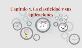 Capítulo 5. La elasticidad y sus aplicaciones.
