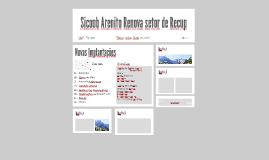 Sicoob Arenito Renova setor de Recup