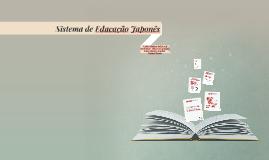 Sistema de Educação Japones