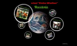 """school """"Dimitar Miladinov"""" Macedonia"""