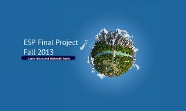 ESP Final Project