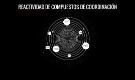 COMPUESTOS DE COORDINACIÓN.