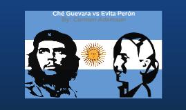 Ché Guevara vs Evita Perón