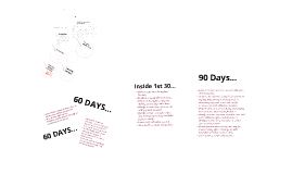 Copy of 30-60-90 Day Digital Sales Manager Plan by Carley Rowling ...