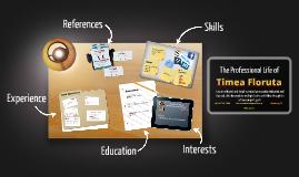 Copy of Resume by Timea Floruta
