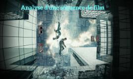 Analyse d'une séquence de film