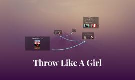 Throw Like A Girl Jennie Finch