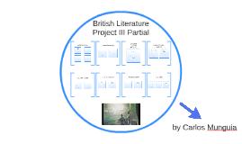 British Literature Project III Bimester