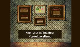 Mga Anyo at Tugon sa Neokolonyalismo