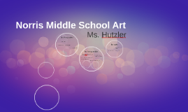 Norris Middle School Art