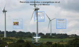 Recursos minerales y energéticosezi