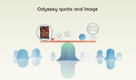 Odyssey quote and image