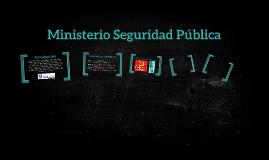 Ministerio Seguridad Pública