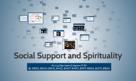 Social Support and Spirituality