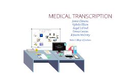 Copy of Medical Transcription