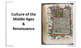 Transition to the Middle Ages