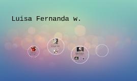 Luisa Fernanda w.