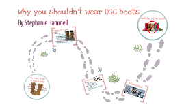 Why you shouldn't wear UGG boots