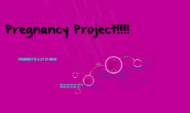 Copy of Pregnancy