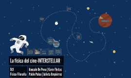 La física del cine-INTERSTELLAR