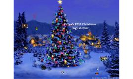 Katya's Christmas Quiz 2016