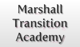 Copy of Transition Academy