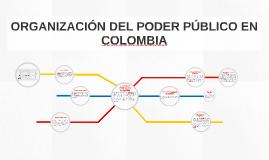 ORGANIZACION DEL PODER PUBLICO EN COLOMBIA
