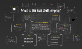 Copy of What is this ABA stuff anyway?