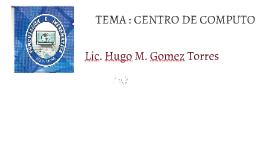 Copy of Organización de Centro de Computo