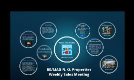 Weekly Sales Meeting, June 19, 2019