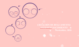 Creación de Reglamento AFUDAEM Nacimiento