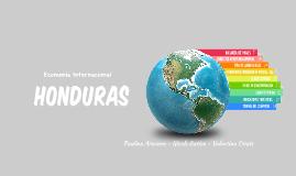 Economía Internacional Honduras