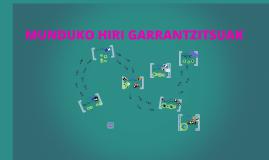 MUNDUKO HIRI GARRANTZITSUAK