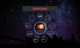 kolimah Planets