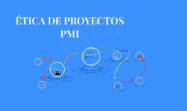 ETICA DE PROYECTOS