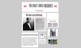 The Great Louise McKinney
