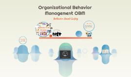 Organizational Behaviour Management OBM