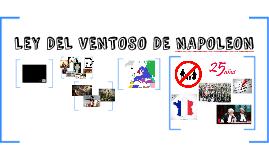 LEY DE PARTIDAS DE NAPOLEON