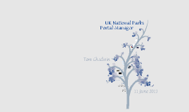 UK National Parks Portal Manager