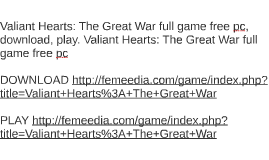 Valiant Hearts: The Great War full game free pc, download, p