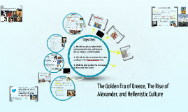 The Golden Era of Greece, The Rise of Alexander, and Hellenistic Culture (5.3, 5.4, 5.5)