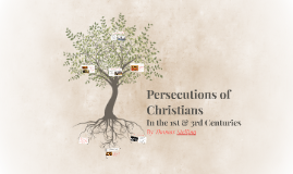 Persecutions of Christians by Thomas Stellino 10.1