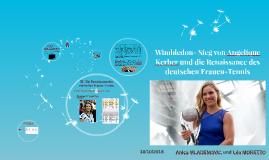 Wimbledon- Sieg von Angelique Kerber und die Renaissance des