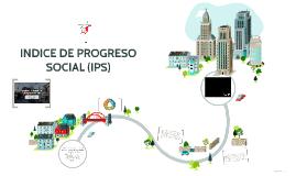 INDICE DE PROGRESO SOCIAL (IPS)