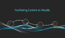 Facilitating Content on Moodle