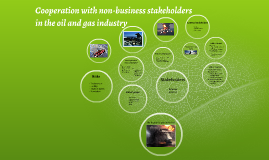 Cooperation with non-business stakeholders in the oil and ga