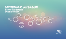 Copy of Universidade do Vale do Itajaí