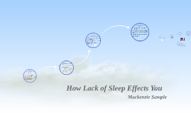 How Lack of Sleep Effects You