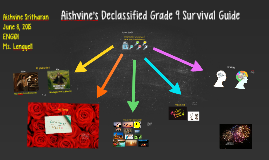 Aishvine's Declassified Grade 9 Survival Guide